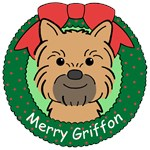 Brussels Griffon Christmas Ornaments