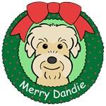 Dandie Dinmont Terrier Christmas Ornaments