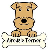 Personalized Airedale Terrier