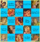 Nancy Drew: Blue Nancy Quotes Collage