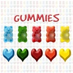 Gummy Bears, Jelly Hearts