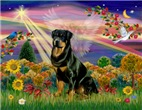 AUTUMN ANGEL<br>& Rottweiler #3
