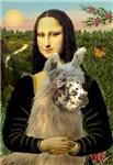 Mona Lisa's Llamas<br>(Click for more llamas)