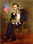 ABRAHAM LINCOLN<br>& Beagle