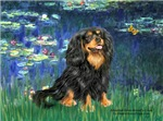 LILIES (#5)<br>& Cavalier King Charles Spaniel