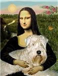 MONA LISA<br>& Wheaten Terrier