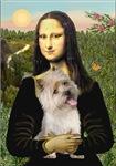 MONA LISA<br>& Wheaten Cairn Terrier#9