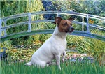 LILY POND BRIDGE<br>& Jack Russell Terrier