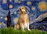 STARRY NIGHT<br>& Golden Retriever