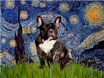 STARRY NIGHT<br>& Brindle French Bulldog