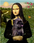 MONA LISA <br>& Brindle Cairn Terrier