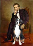 ABRAHAM LINCOLN<br>Greater Swiss Mountain Dog
