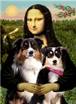 MONA LISA<br>With 2 Aussies