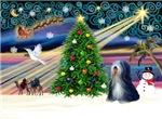 CHRISTMAS MAGIC<br>& Tibetan Terrier #5