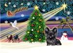 CHRISTMAS MAGIC<br>& Skye Terrier #4