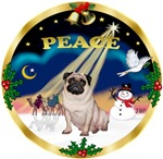 CHRISTMAS SUNRISE<br>& Pug
