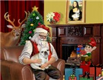 SANTA AT HOME<br>& French Bulldog