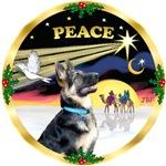 CHRISTMAS DOVE<br>& German Shepherd