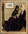 WHISTLERS MOTHER<br>& Rottweiler #2