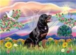 CLOUD ANGEL<br>& Rottweiler #6