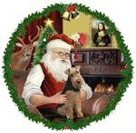 SANTA AT HOME<br>& Welsh Terrier