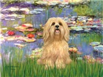 WATER LILIES<br>&Lhasa Apso #9