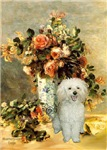 THE VASE<br>& White Poodle (Toy/Min)