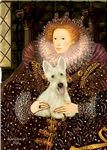 QUEEN ELIZABETH I<br>& Scottish Terrier