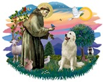 St. Francis #2 &<br> Great Pyrenees #1
