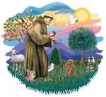 St. Francis #2 &<br>Poodle Apricot (Toy.Min)