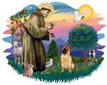 St. Francis #2 &<br> Chinese Shar Pei (#2)