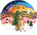 CHRISTMAS MUSIC #2<br>Golden Retriever #5