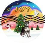 CHRISTMAS MUSIC #2<br>Blue-Cream Chihuahua