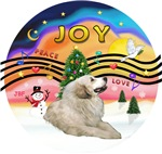 CHRISTMAS MUSIC #2<<br>Great Pyrenees #1br>TEMPLAT