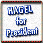 Chuck Hagel T-shirts, Hagel 08 Buttons