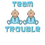 Boy Twins Onesies, Nursery Decor, Gifts
