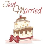 Just Married Shirts, Gifts and Favors
