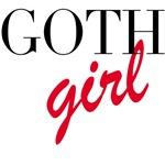 Goth Girl Tshirts & Gifts
