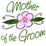 Pink Flower Mother of Groom Gifts and Favors