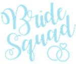 Bride Squad Script Blue