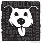 Pit Bull Love - black
