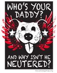 Who's Your Daddy Wings - Red