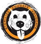 Sterilize/Educate/Advocate - orange