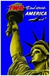 TWA Fly to America Print