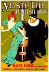 Absinthe Parisienne Vintage Liquor Print