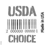 OYOOS USDA Choice barcode design