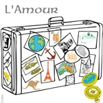 OYOOS L'Amour suitcase design