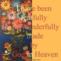 Happy Sunflowers w/ God text