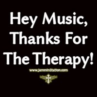 Music, Thanks For The Therapy