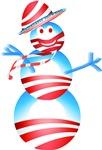 Obama Snow Man